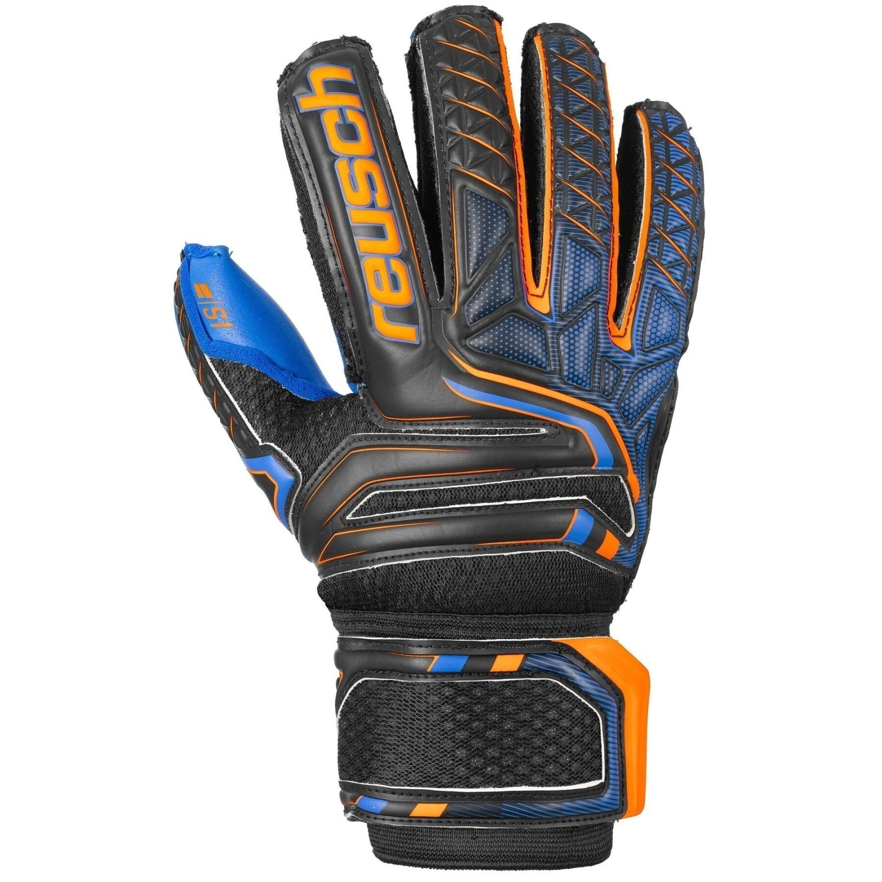 Gants junior Reusch Attrakt S1 Finger Support