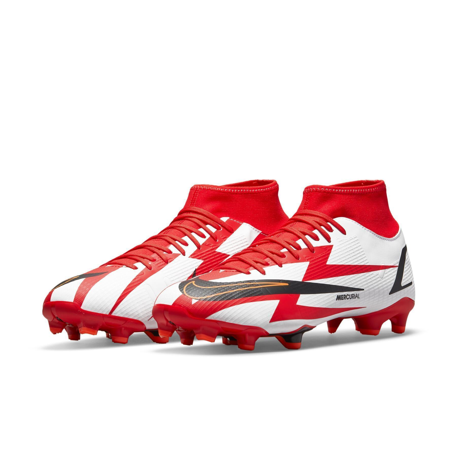 Chaussures Nike Mercurial Superfly 8 Academy CR7 MG
