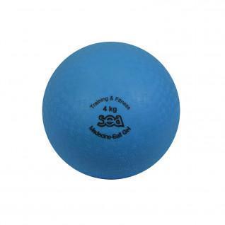 Médecine ball gel 4kg Sporti France Sea