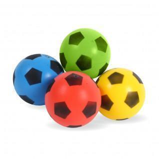 Lot de 4 ballons coloris assortis 17.5 cm Sporti France