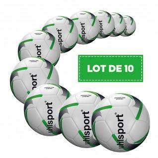 Lot de 10 Ballons Uhlsport Soccer Pro Synergy