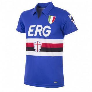 Sampdoria Retro Copa Home Shirt 1991/92