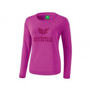 Sweat-shirt junior femme Erima essential à logo