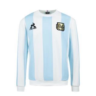 Sweat Le coq sportif retro Argentine 1986 Collection Legends Maradona