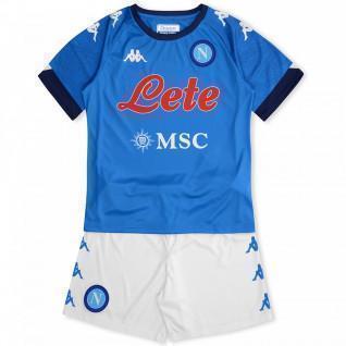 Mini-kit enfant domicile Naples 2020/21