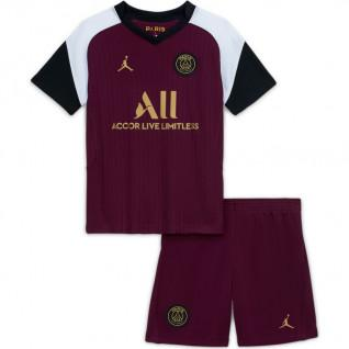 Mini-kit kid third PSG 2020/21