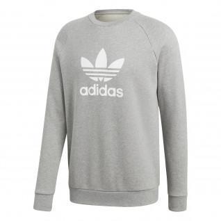 Sweatshirt adidas Trefoil Warm-Up Crew logo