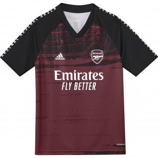 Maillot d'échauffement junior Arsenal 2020/21