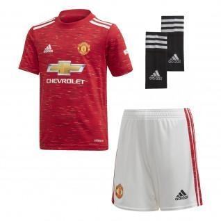Mini-kit kid domicile Manchester United 2020/21