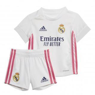 Mini-kit domicile Real Madrid 2020/21