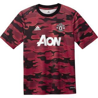 Maillot junior Manchester United Pre-Match 2020/21