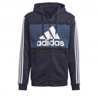 Sweatshirt à capuche adidas Essentials Colorblock Logo