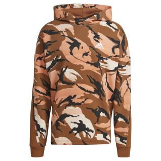 Sweatshirt à capuche adidas Desert Camouflage AOP