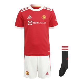 Mini kit Domicile Manchester United 2021/22