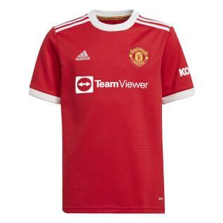 Maillot domicile enfant Manchester United 2021/22