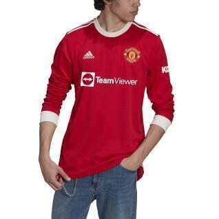 Maillot manches longues domicile Manchester United 2021/22