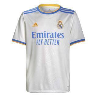 Maillot domicile enfant Real Madrid 2021/22