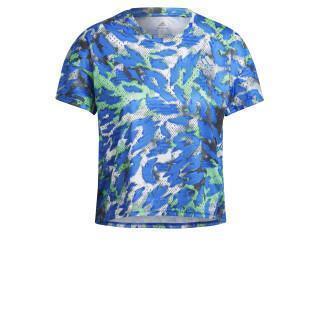 T-shirt femme adidas Primeblue Fast Graphic
