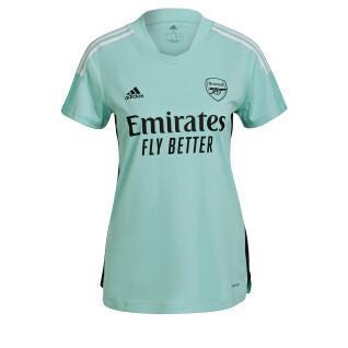 Maillot d'entraînement femme Arsenal Tiro 2021