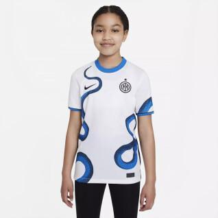 Maillot extérieur enfant Inter Milan 2021/22