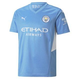 Maillot domicile enfant Manchester City 2021/22
