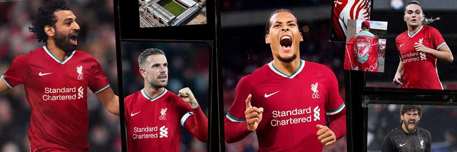 Nouveaux maillots Liverpool 2020/21