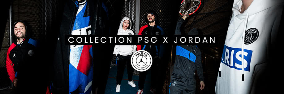 Nouvelle collection PSG x Jordan