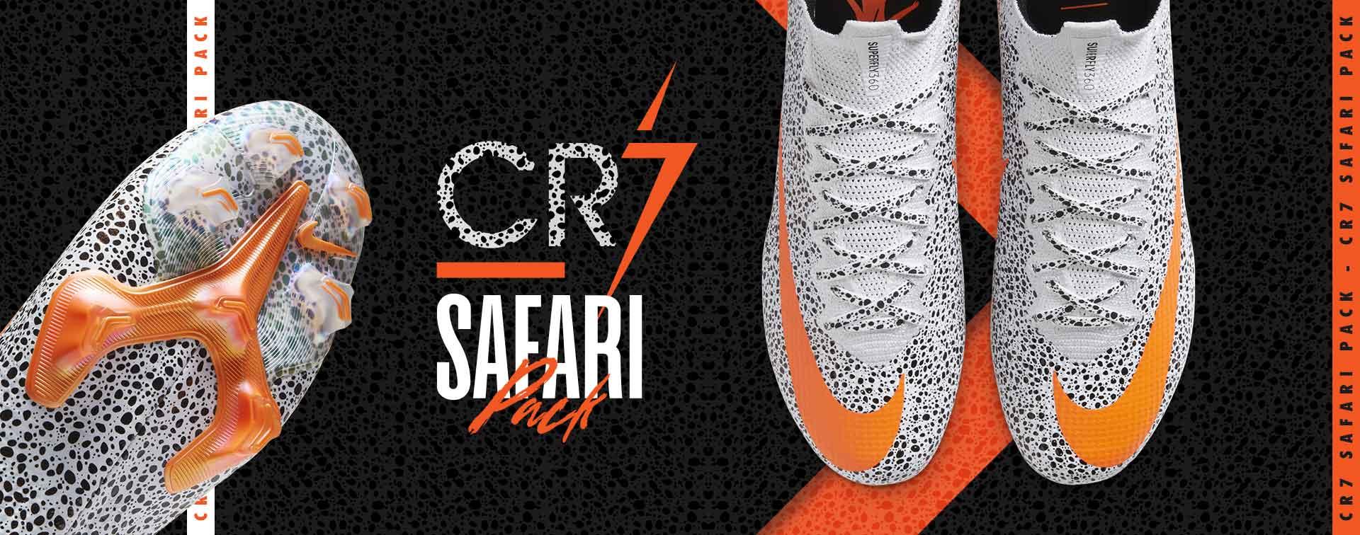 nouveaux crampons Nike CR7 Safari
