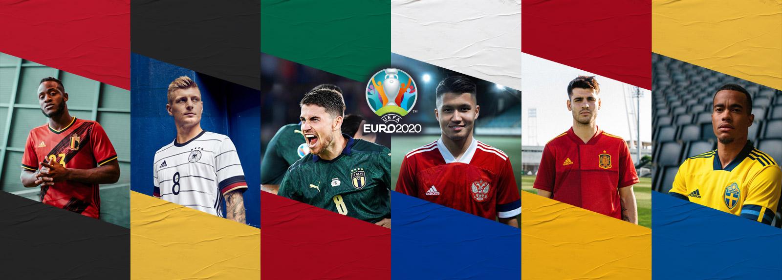 EURO 2020 : Les nouveaux maillots sont là !