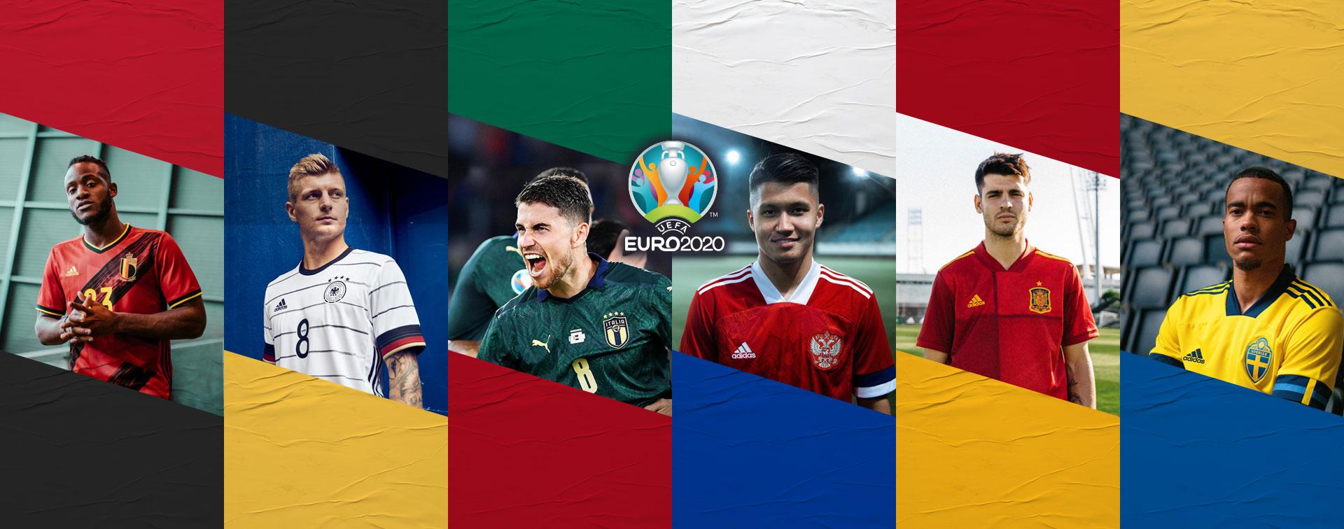 Les nouveaux maillots de l'Euro 2020 sont là !