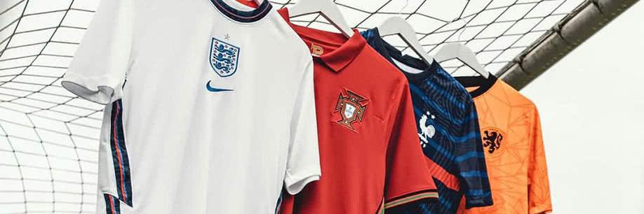 Nouveaux maillots EURO 2020