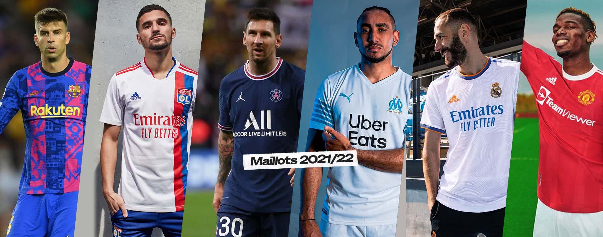 Maillots Ligue 1