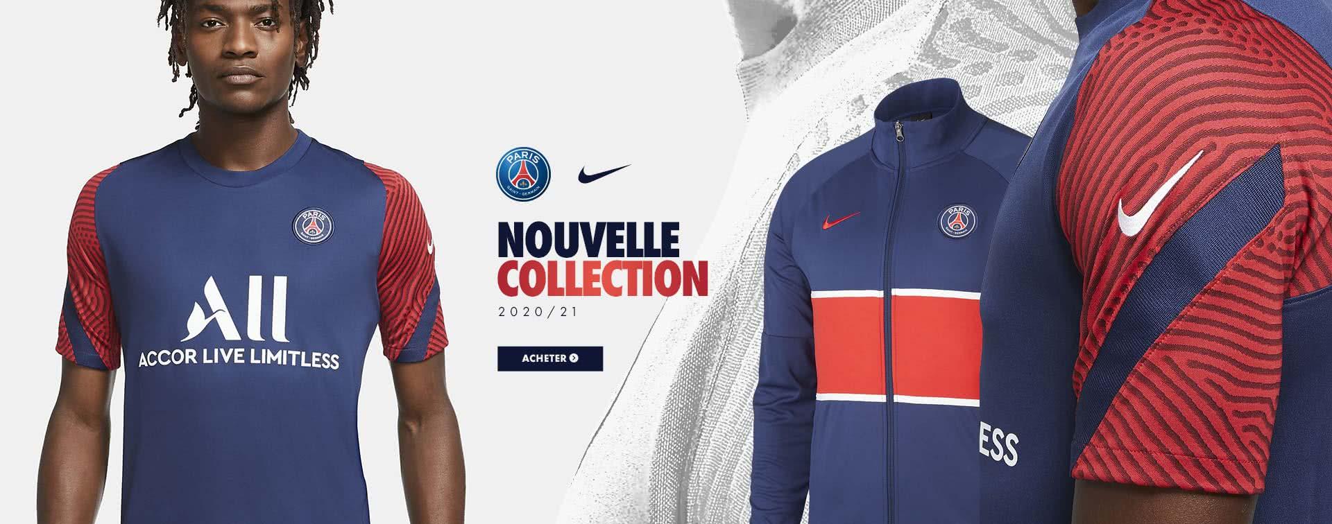 Nouvelle collection PSG 2020/2021