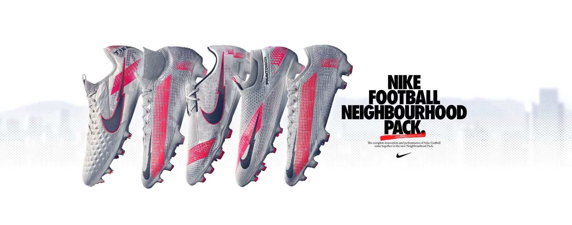 nouveaux crampons Nike Neighbourhood pack
