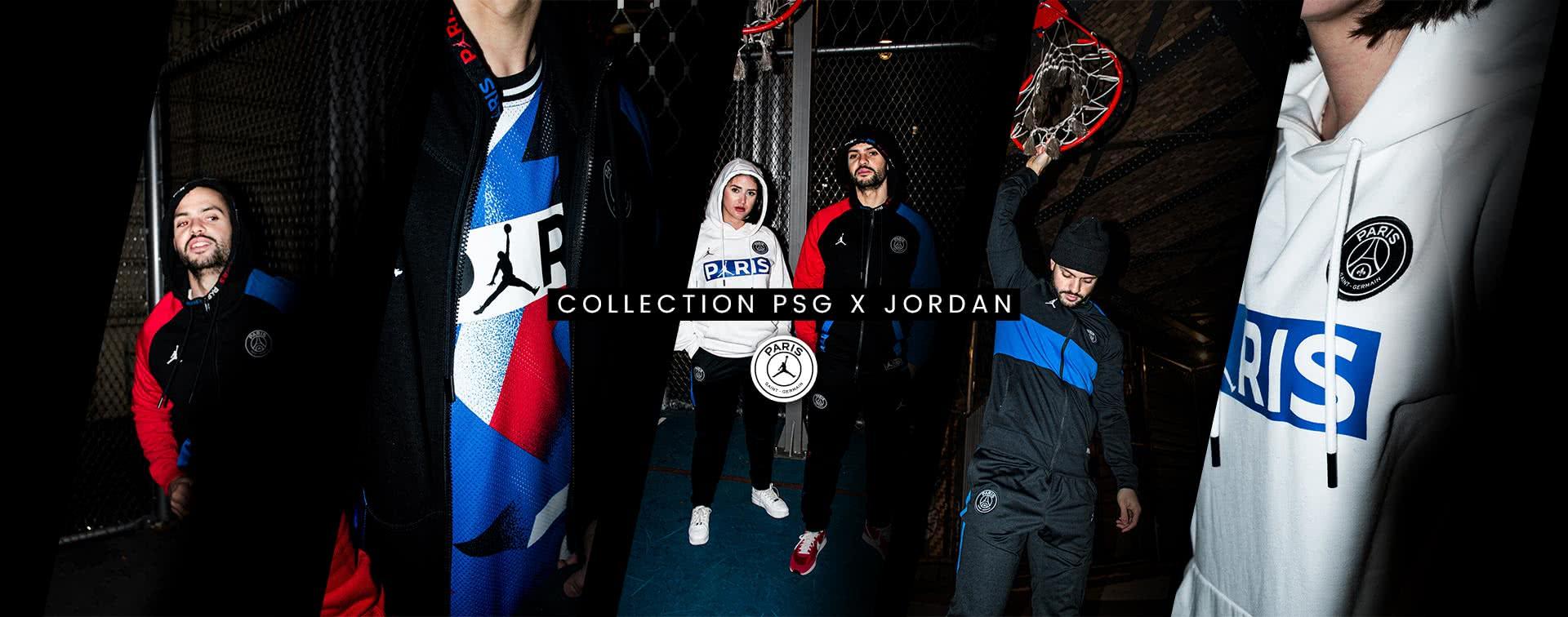 Nouvelle collection PSG x Jordan