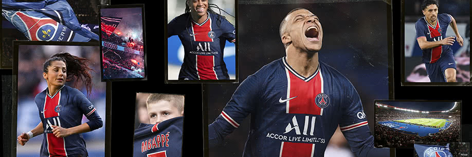 Nouveaux maillots PSG 2020/21