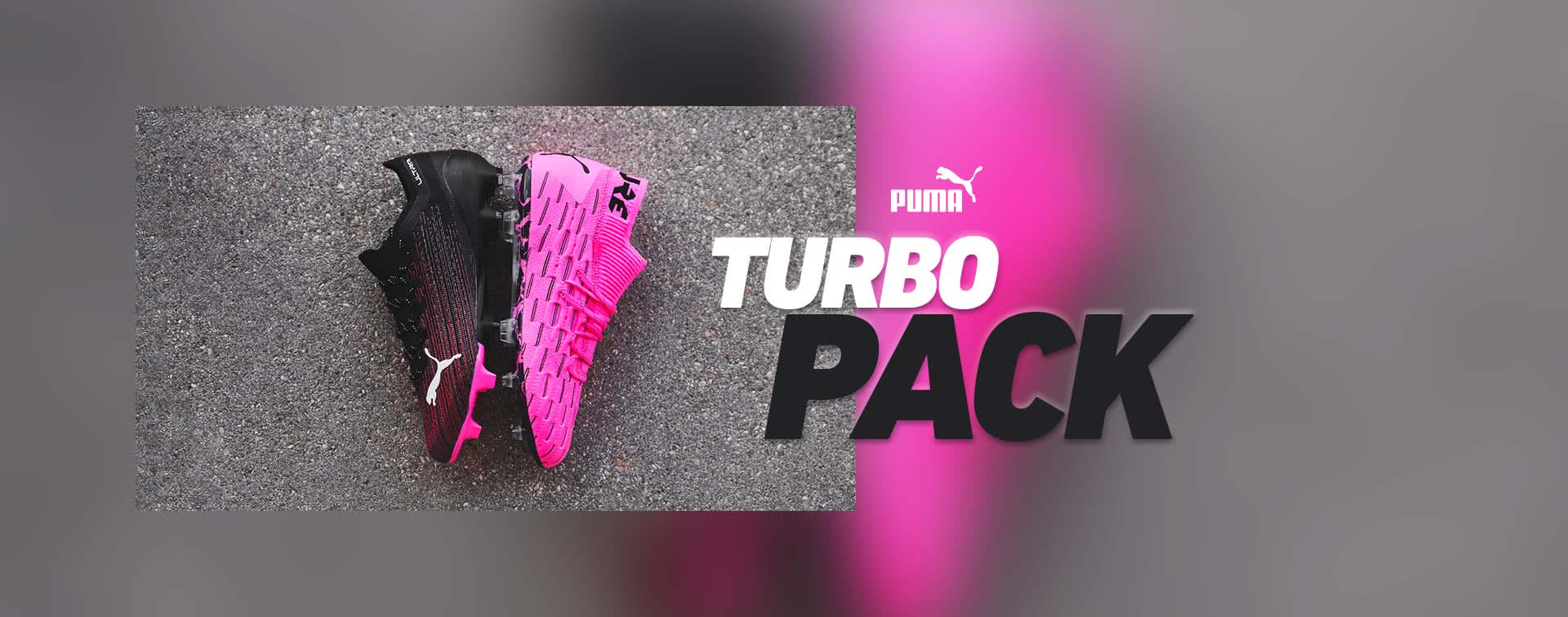 Nouvelles chaussures de football Puma Turbo Pack