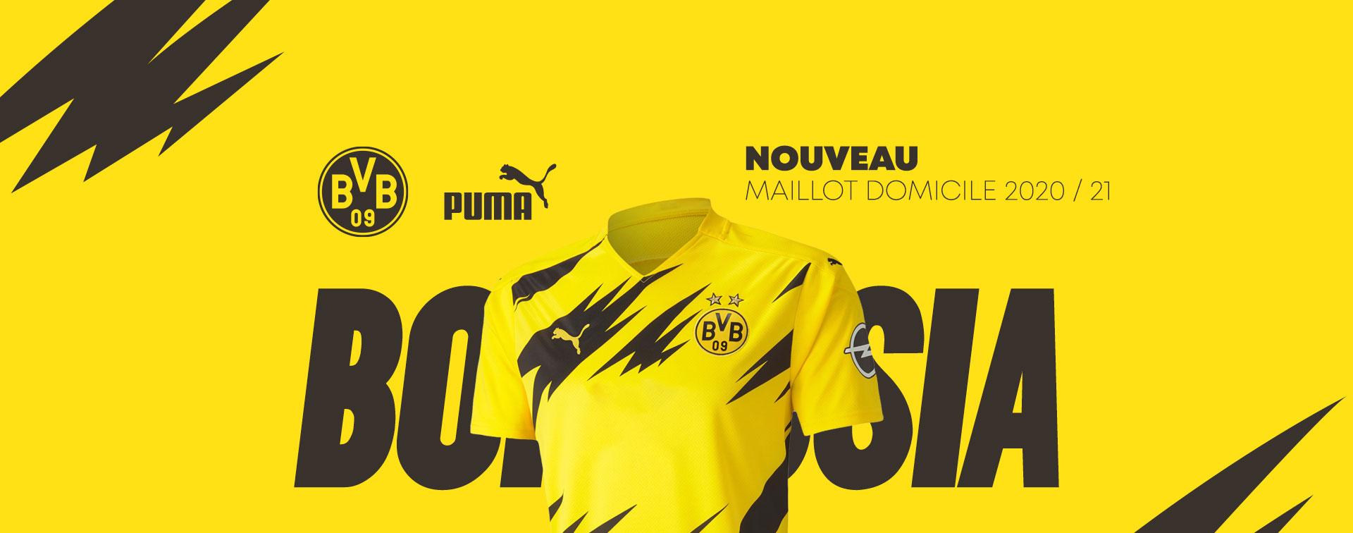 maillot domicile Borussia Dortmund